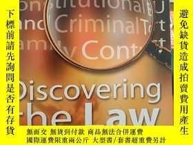 二手書博民逛書店discovering罕見the lawY18910 sean butler law matters p