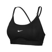 Nike AS W DF Indy U-Neck Bra 女 黑 輕度 支撐 運動 內衣 CZ4463-010