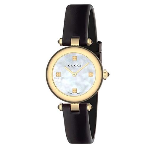 GUCCI Diamantissima古馳氣質女腕錶/22MM/YA141505