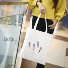 手提包 帆布包 手提袋 環保購物袋【DE...