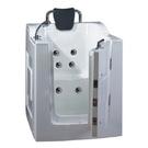 【海夫健康生活館】開門式浴缸 101B-R 氣泡按摩款 (105*85*108cm)