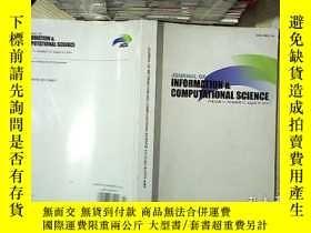 二手書博民逛書店Journal罕見of information and computational science 2014 11