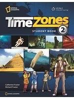 二手書博民逛書店 《Time Zones 2: Student Book Combo Split B》 R2Y ISBN:1424061229│CatherineFrazier