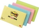 【3M】655-4A 利貼 可再貼便條紙系列 粉綠 100張/本