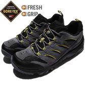 Merrell 戶外鞋 White Pine Vent GTX 防水 Gore-Tex 透氣 灰 黃 越野 健走 運動鞋 男鞋【PUMP306】 ML09565