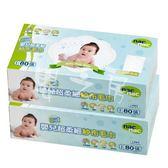 【嬰之房】Nac Nac嬰兒超柔細乾式紗布毛巾(2盒特價)