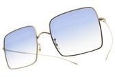 OLIVER PEOPLES 太陽眼鏡 RASSINE 503519 (金-漸層藍鏡片) 復古大方框款 墨鏡 # 金橘眼鏡