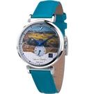 梵谷Van Gogh Swiss Watch小秒盤梵谷經典名畫女錶 C-SLLT-23 麥田