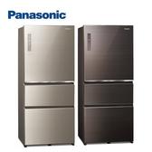 Panasonic 國際牌 ECONAVI 610L三門一級能變頻電冰箱全平面無邊框玻璃 NR-C611XGS -含基安