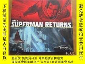 二手書博民逛書店The罕見Art of Superman Returns 超人設定集Y178456 丹尼爾 出版2010