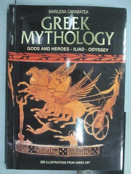 【書寶二手書T2/翻譯小說_PEA】Greek Mythology