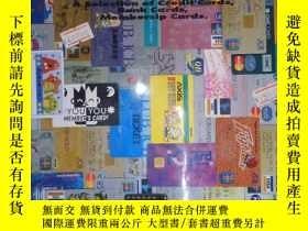 二手書博民逛書店CREATIVE罕見PLASTIC CARDS(詳見圖)Y6583 和田光太郎 株式會社エーヅー 出版199
