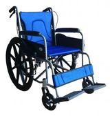 輪椅B款-22吋大輪折背// FZK-25B  贈1 好禮