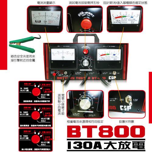 12V 24V 電瓶試驗器 +貨車 +卡車 +汽車 進煌CSP BT800