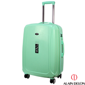 ALAIN DELON 亞蘭德倫 24吋旅者風情系列旅行箱(藍綠)