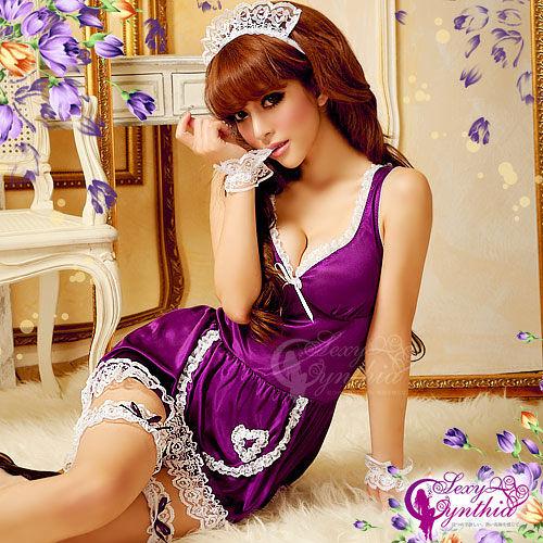 COSPLAY 戀愛遊戲!後開襟七件式角色扮演女傭服 愛的蔓延 11030180