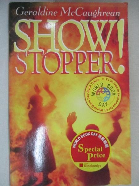 【書寶二手書T8/原文小說_CNA】Show Stopper!