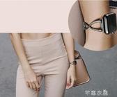 錶帶 apple watch蘋果手錶帶防水iwatch1/2/3代潮不銹鋼時尚鑲鑽手鍊女 交換禮物