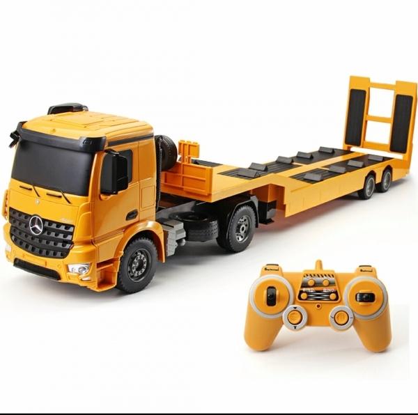拖板車 平板拖車 遙控聯結車 工程運輸車 拖車 遙控平板車