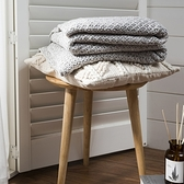 hoi!四季可用披毯 130x160cm -和煦灰