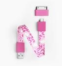【愛瘋潮】Mohzy 時尚 環型 Micro USB 傳輸線 (附30PIN轉接頭) KITTY 限量版