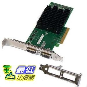 [103美國直購 ShopUSA] 伺服器適配器 2XCx10Gbps Pci-EX8Server Adapter 4.9W Low Profile W/ Full Height/ Lp Bracket $22610