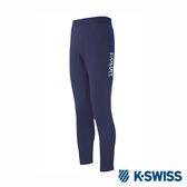 K-SWISS Jersey Pants韓版運動長褲-男-藍