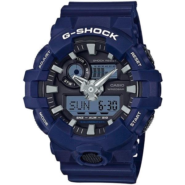 【東洋商行】免運 CASIO 卡西歐 G-SHOCK 粗曠感雙顯式運動男錶 防水手錶 GA-700-2ADR 手錶 電子錶 腕錶