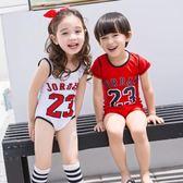 寶寶女孩男孩兒童泳衣中大童泳裝LJ3310『miss洛羽』