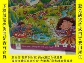 二手書博民逛書店Seek罕見and Find Fairy 兒童益智啓蒙找找看英文