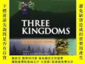 二手書博民逛書店The罕見Three Kingdoms Volume:Author(s):Luo GuanzhongY4032
