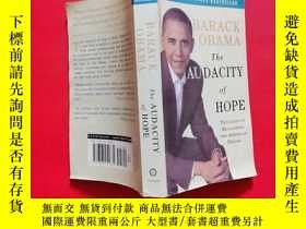 二手書博民逛書店罕見The Audacity of Hope:Thoughts on Reclaiming the America