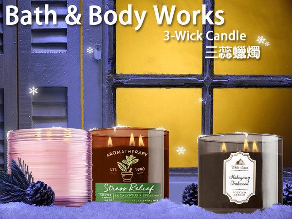 Bath & Body Works 薰香蠟燭 三蕊燭芯 彩色玻璃系列 411g BBW美國原廠【彤彤小舖】