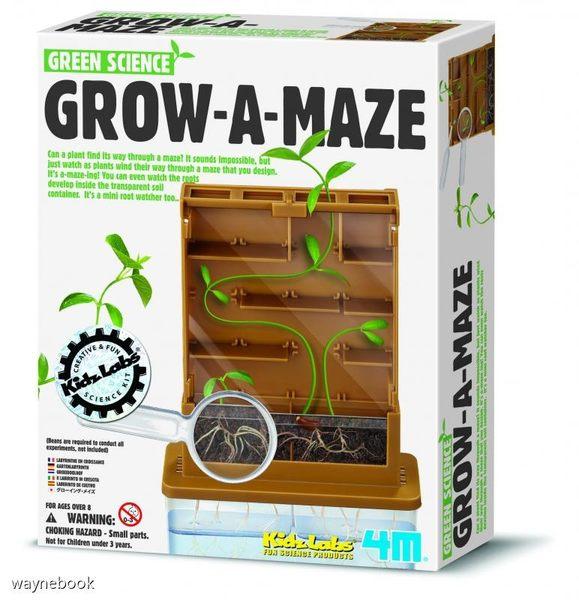 【4M】科學探索系列 - 植物迷宮 GROW-A-MAZE 00-03352