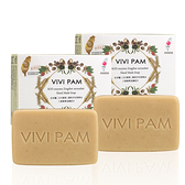 VIVI PAM SOD酵能紅球薑滋養手工皂二件超值組 120gx2