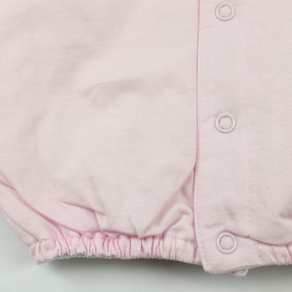 【愛的世界】純棉鋪棉小兔與雲長袖兩用嬰衣/3個月-台灣製-  ---幼服推薦