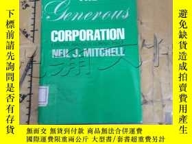 二手書博民逛書店The罕見Generous Corporation: Polit