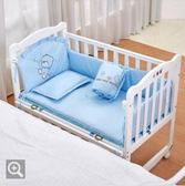 嬰兒床實木寶寶搖籃床小床新生兒童bb睡床igo 伊蒂斯