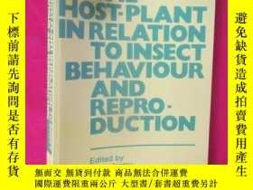 二手書博民逛書店The罕見Host-Plant in Relation to I