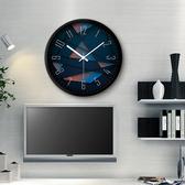 鍾錶掛鍾客廳創意現代時鍾石英鍾錶掛錶xw 【快速出貨】