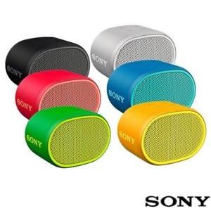 SONY BASS重低音防水攜帶型藍芽喇叭SRS-XB01 藍