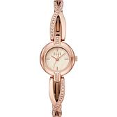 【ELLE】/晶鑽纏繞手鍊式腕錶(男錶 女錶 Watch)/ELL21016/台灣總代理原廠公司貨兩年保固