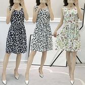 棉麻洋裝連身裙~棉綢連衣裙女中長款新顯瘦減齡連衣裙女裝裙2198#MB119B愛尚布衣