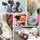 幼犬貓咪比熊泰迪狗狗衣服春夏季薄款寵物服裝  hh1055『優童屋』