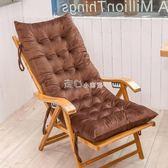 躺椅墊秋冬加厚加長躺椅墊子搖椅墊折疊椅長凳子坐墊折疊椅子墊沙發墊   走心小賣場YYP