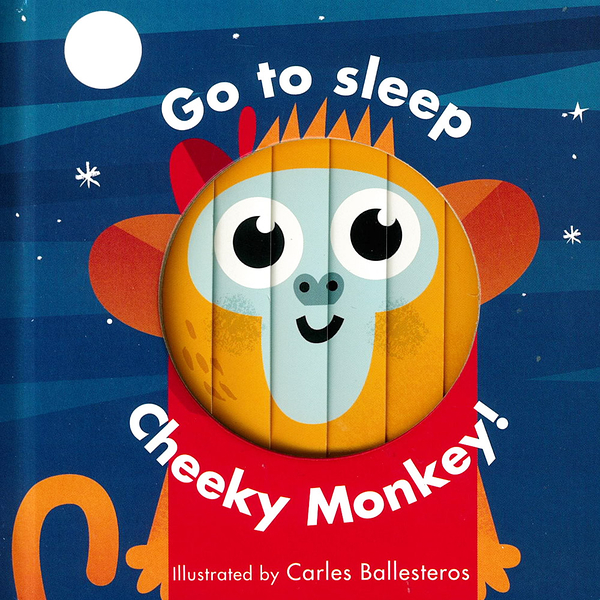 Little Faces:Go To Sleep Cheeky Monkey! 變臉操作書:淘氣小猴篇