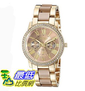 [美國直購] 女錶 XOXO Women s XO5873 Analog Display Analog Quartz Two Tone Watch