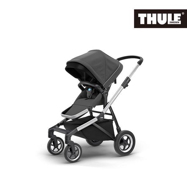 THULE-SLEEK 四輪嬰兒手推車-深灰