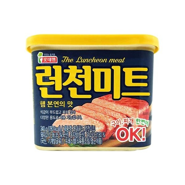 LOTTE 樂天 午餐肉(340g)【小三美日】※禁空運