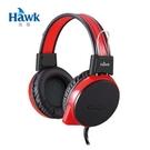 Hawk X710 頭戴式電競耳機麥克風-紅色